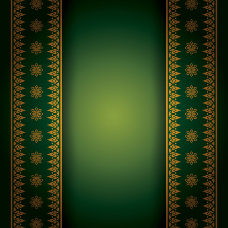 thailand silk: Asian art background for cover design  Illustration