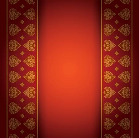 Asian art background for cover design  Vector