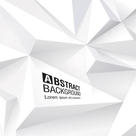 layout design: White geometric background
