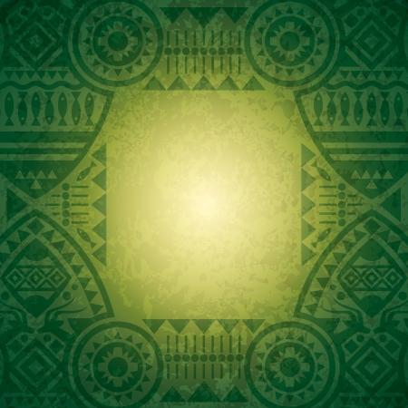 african background: African background design template for cover design  Illustration