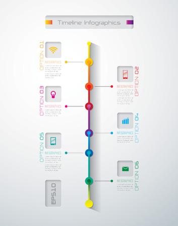Infographies modèle de conception