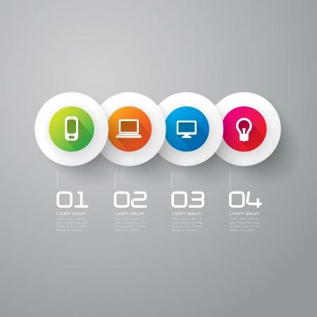Infografik Design-Vorlage