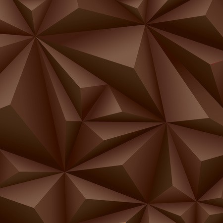 diamond shape: Brown geometrical background  polygonal background Illustration