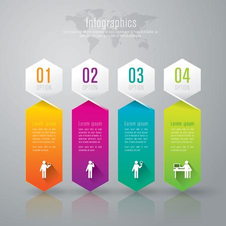 Infografica modello di progettazione Archivio Fotografico - 26752659