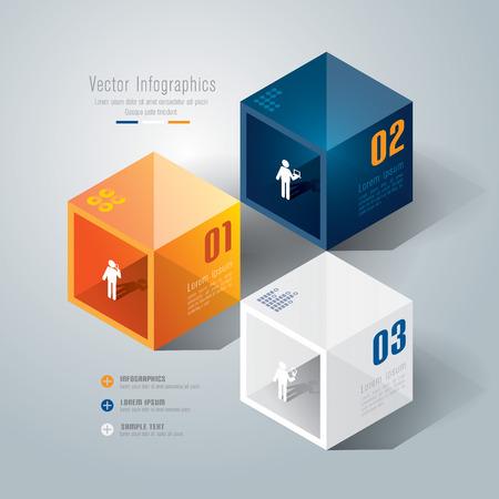 Infographics design template Stock Vector - 26752664