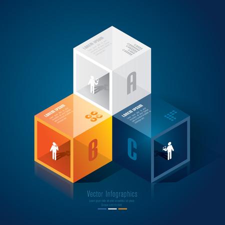 Infographics design template Stock Vector - 26752666