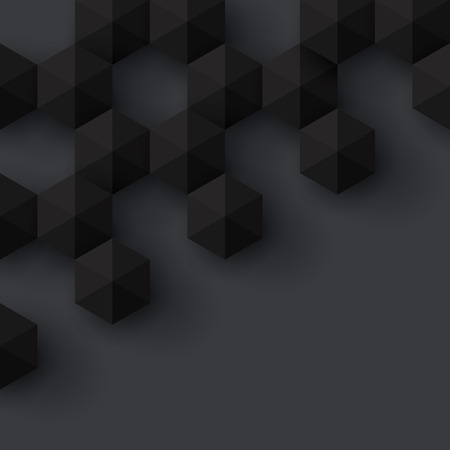 geometri: Siyah geometri arka plan Vektör arka plan Çizim