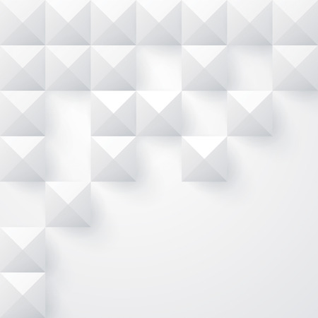 cover: White geometry background  Vector background