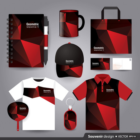 set template: Gift set template, Corporate identity design