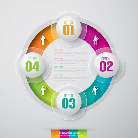 creative concept: Infographics vector design template