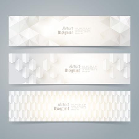 diamond shape: Collection banner design vector