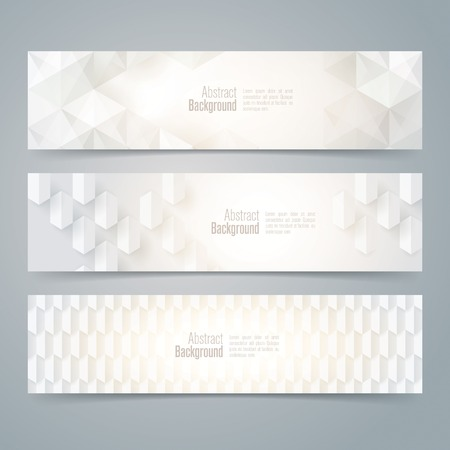 Collection banner design vector