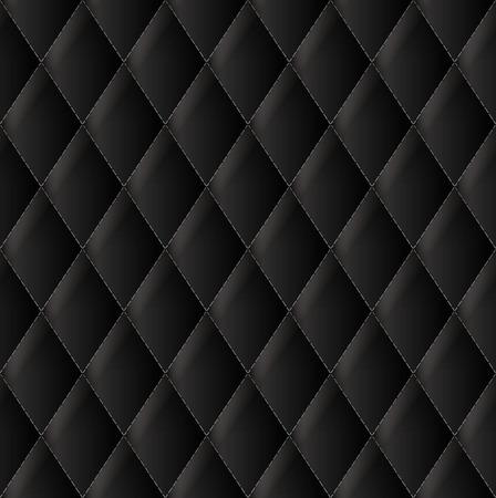 Schwarz Polsterung Vektor Hintergrund Vektorgrafik