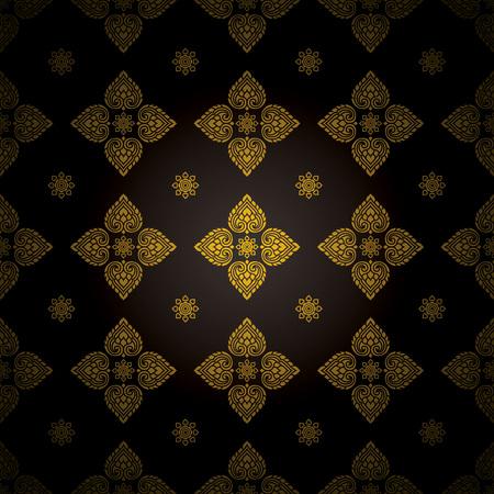 Thai Art , Thai art pattern  Vector
