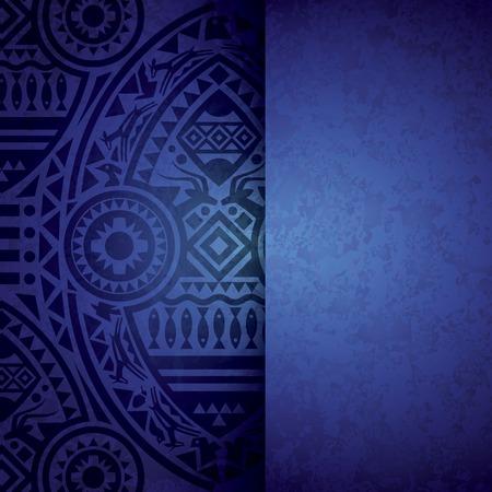 Afrikaanse achtergrond ontwerp Stock Illustratie