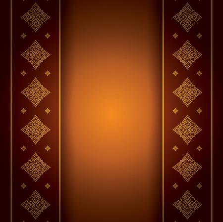 thailand silk: Asian Art Background