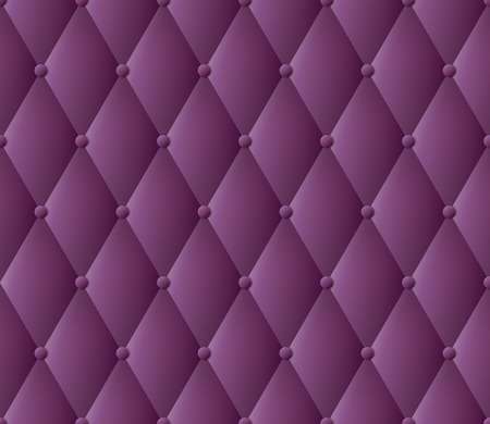 tufted: Purple upholstery vector abstract background   Illustration