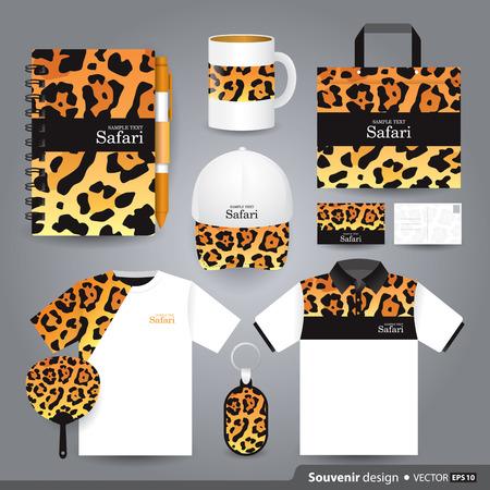 Gift set template, Corporate identity design