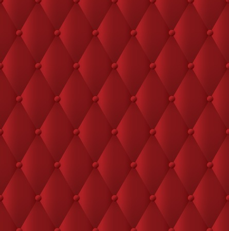 tufted: abstract upholstery background. Illustration