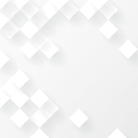 witte achtergrond: Witte geometrische achtergrond vector.
