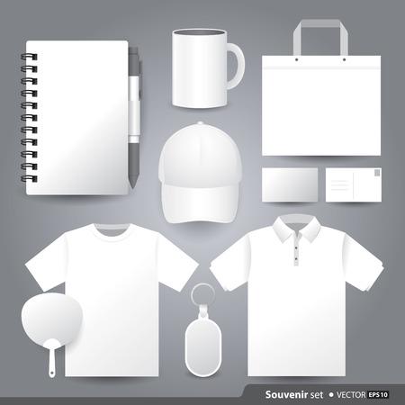 Vector templates set of Souvenir for your design.