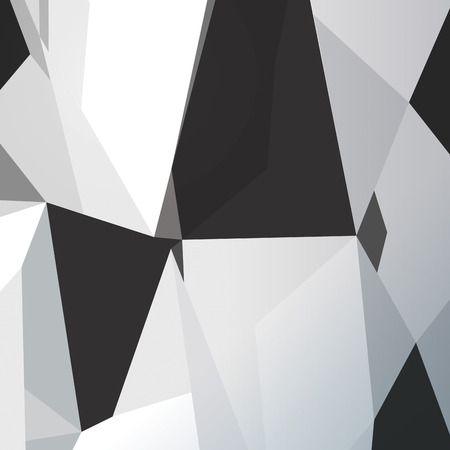 Polygonal design  Abstract geometrical background. Vector