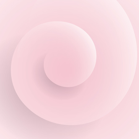 Spiral form background vector. Vector