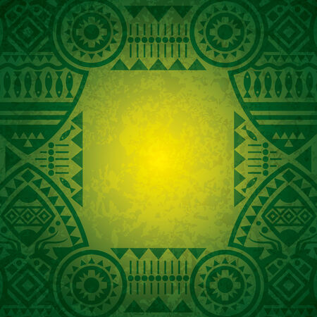 African background design.