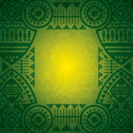 arte africano: Diseño de fondo de África.