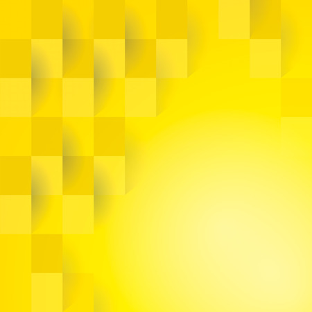yellow design element: Yellow geometric texture.