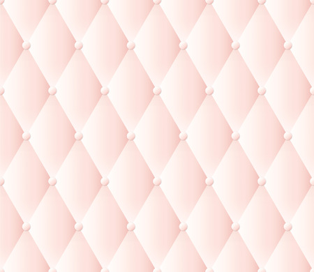 tufted: Pink upholstery vector abstract background.