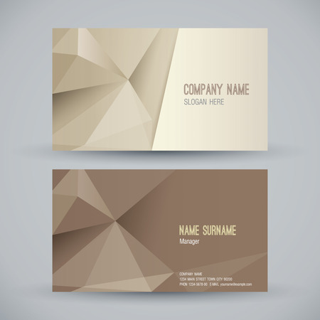 name graphics: Business card abstract background. Vector illustration. Illustration