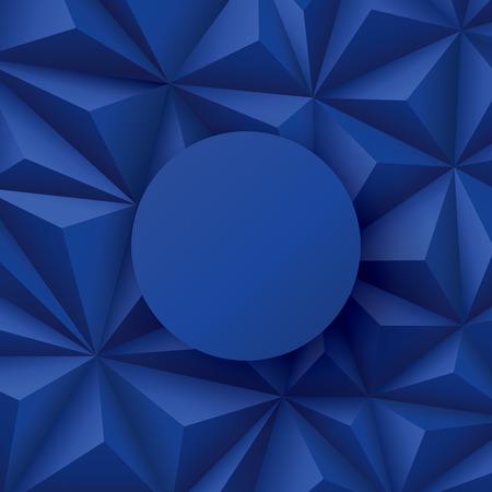 geometric background: Fondo azul. Vector de fondo geom�trico.