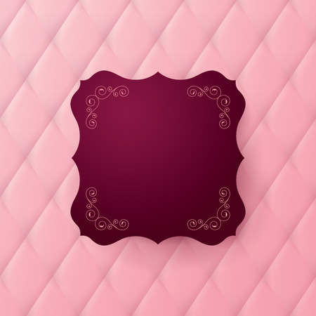 luxury template: Vector abstract upholstery background.