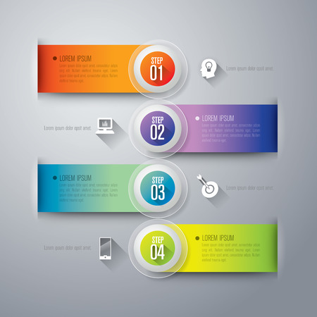 phone numbers: Abstract 3D digital illustration Infographics. Illustration
