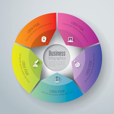 tecnolog�a informatica: Resumen ilustraci�n digital en 3D Infograf�a. Vectores