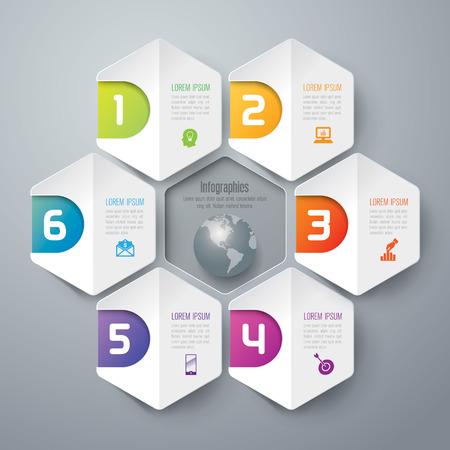 diagram chart: Infographics vector design template.
