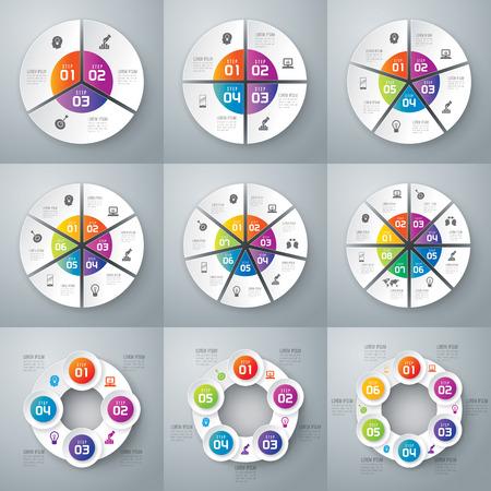 Infographic Design-Vorlage und Marketing-Ikonen. Standard-Bild - 40298760