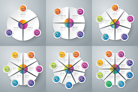 Infographic design template and marketing icons. Vectores