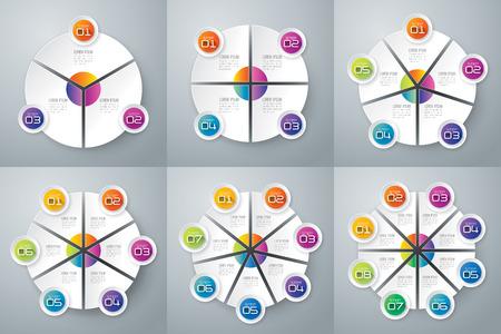 nombres: Infographie mod�le de conception et de commercialisation ic�nes. Illustration