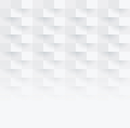 geometrics: White abstract background vector.
