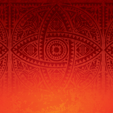 african art: African art background design. Illustration