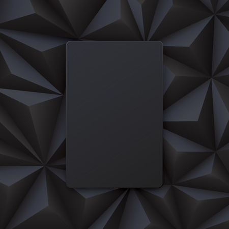 abstract black: Black abstract background