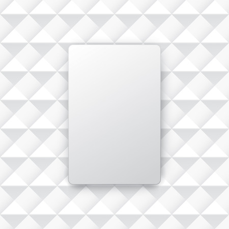 on a white background: White abstract background vector.