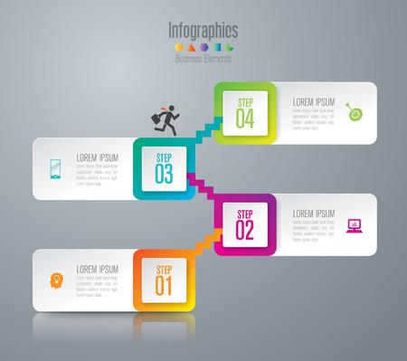 Infografía plantilla de diseño y comercialización de iconos.