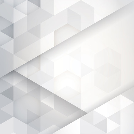 White and gray abstract background vector.