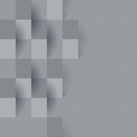 Gray abstract background vector.