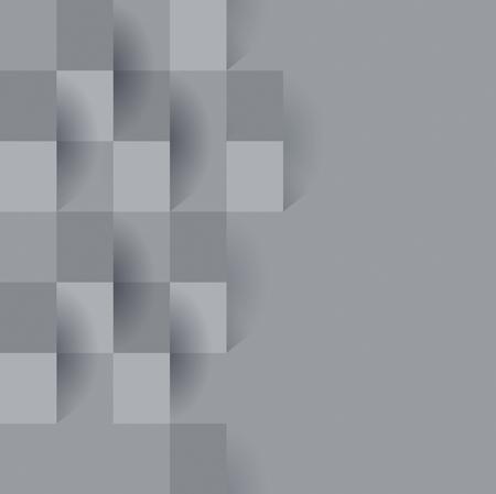 Gray abstract background vector. Reklamní fotografie - 47461317