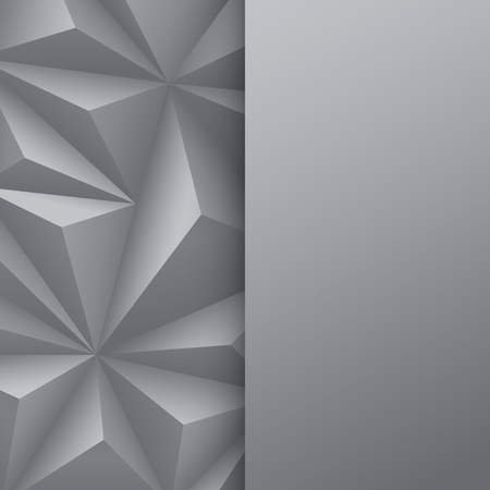 advertising template: Gray abstract background vector.