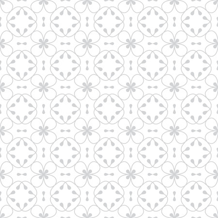 decoration: Vector floral background in trendy mono line style - monogram design element. Illustration
